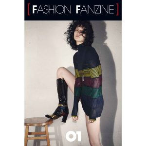 Fashion Fanzine issue #01 White Cover